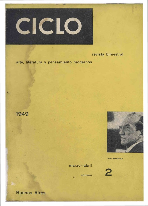 Ciclo : arte, literatura y pensamiento modernos