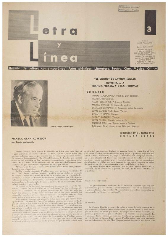 Letra y Línea : revista de cultura contemporánea, artes plásticas, literatura, teatro, cine, música, crítica