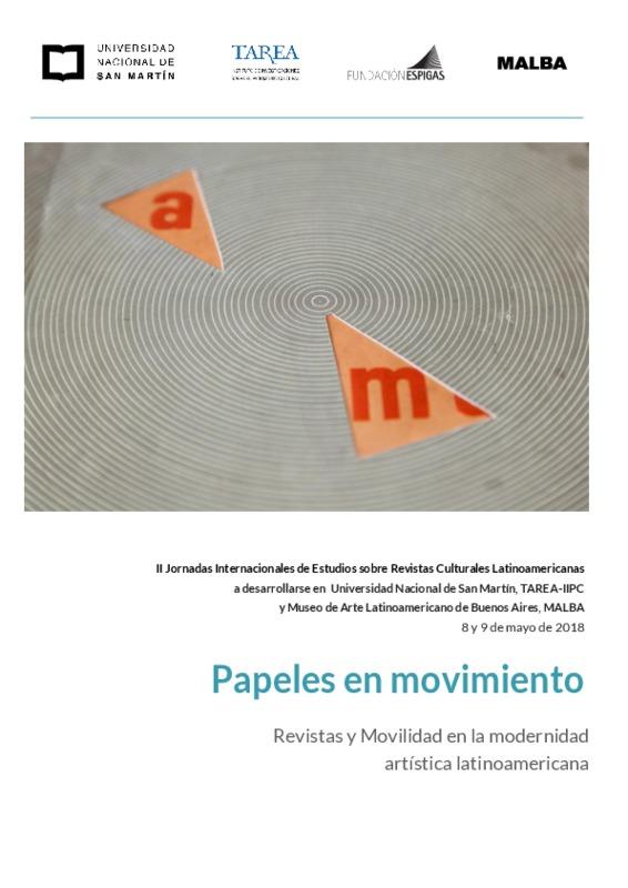 Convocatoria a las II Jornadas Internacionales de Estudios sobre Revistas Culturales Latinoamericanas